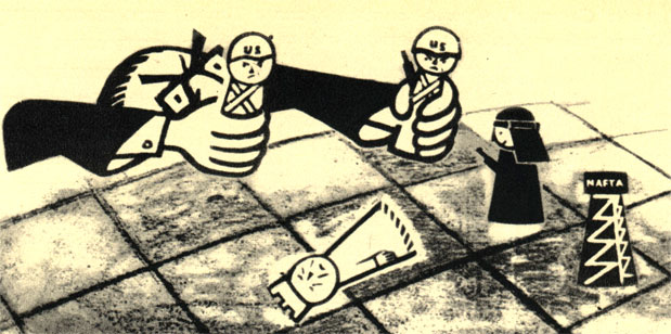 Еще один сатирический рисунок на тему американо-арабского политического конфликта в 1958 году: 'Поймите, г-н Даллес, тот, кто потерял короля, теряет и туру'. (Худ. Б. Цеплеха - 'Дикобраз')
