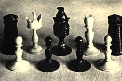 Шахматы, которыми Мицкевич пользовался во время пребывания в России. Находятся в Музее Мицкевича в Варшаве