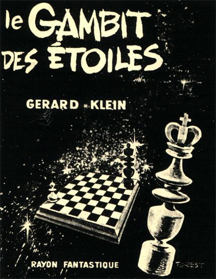 Обложка изданной во Франции книги Жерара Клейна 'Гамбит звезд'