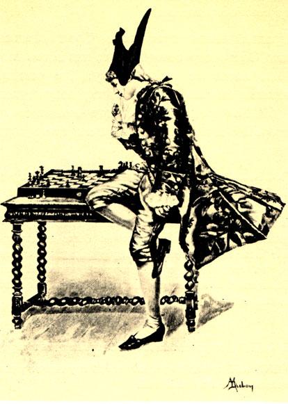 М. Дюбуа: 'Шахматист' (XIX в.)