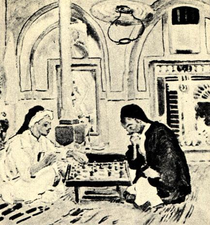 Станислав Масловски: 'Арабская кофейня' (1912 г.)