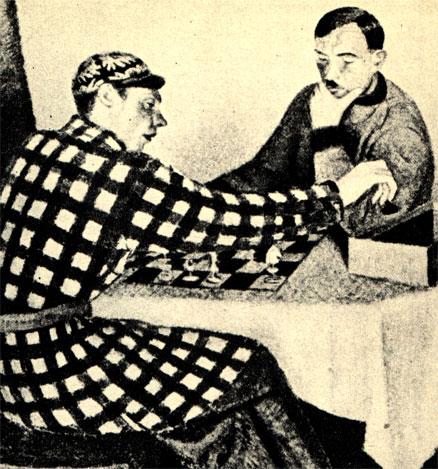 Марцин Самлицки: 'Игра в шахматы' (1934 г.)