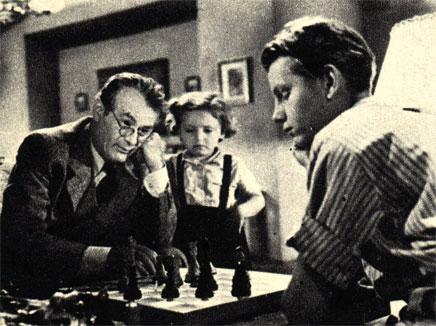 Кадр из чехословацкого фильма 'Совесть' (1949 г.)
