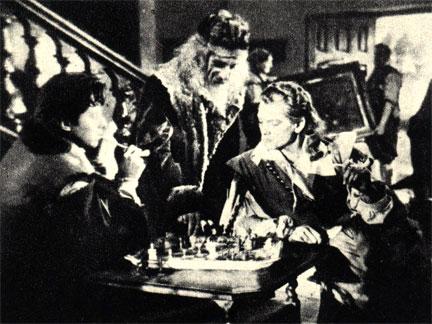Кадр из французского фильма 'Красавица и зверь' (1946 г.)