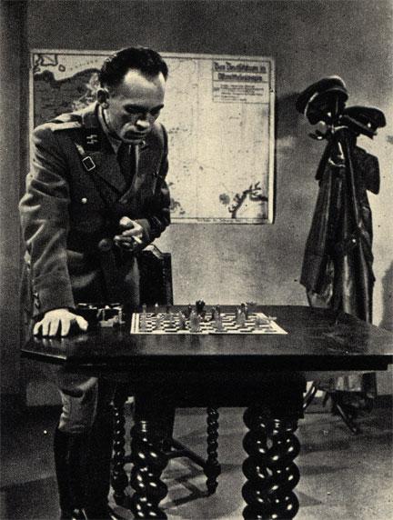 Кадр из польского фильма 'Дезертир' (1958 г.)