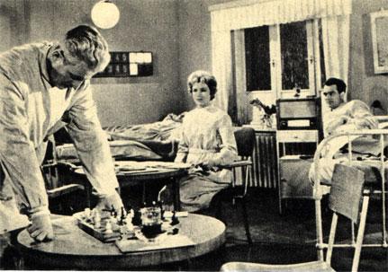 Кадр из польского фильма 'Сигналы' (1959 г.)